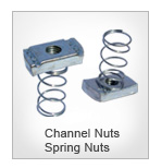 Channel Nuts Spring Nuts